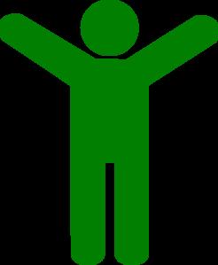Green Man Clip Art at Clker.com.