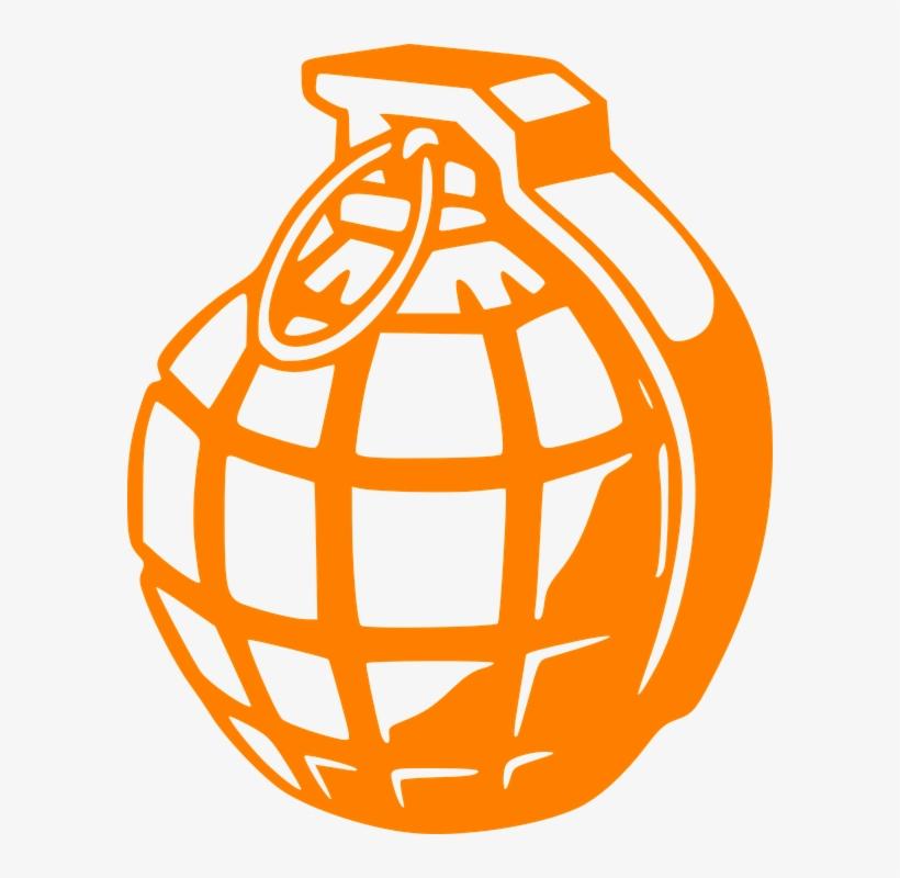 Grenade Clipart Explosive.