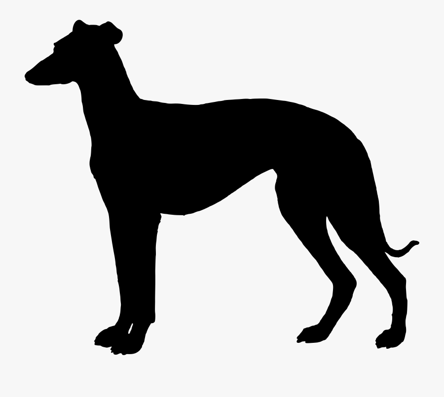 Transparent Dog Head Silhouette Png.