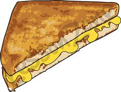 228 Grilled Cheese free clipart.