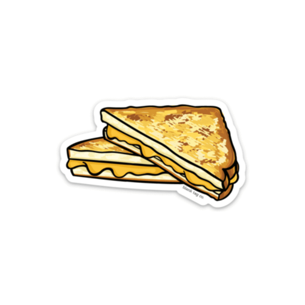 The Grilled Cheese Sticker.