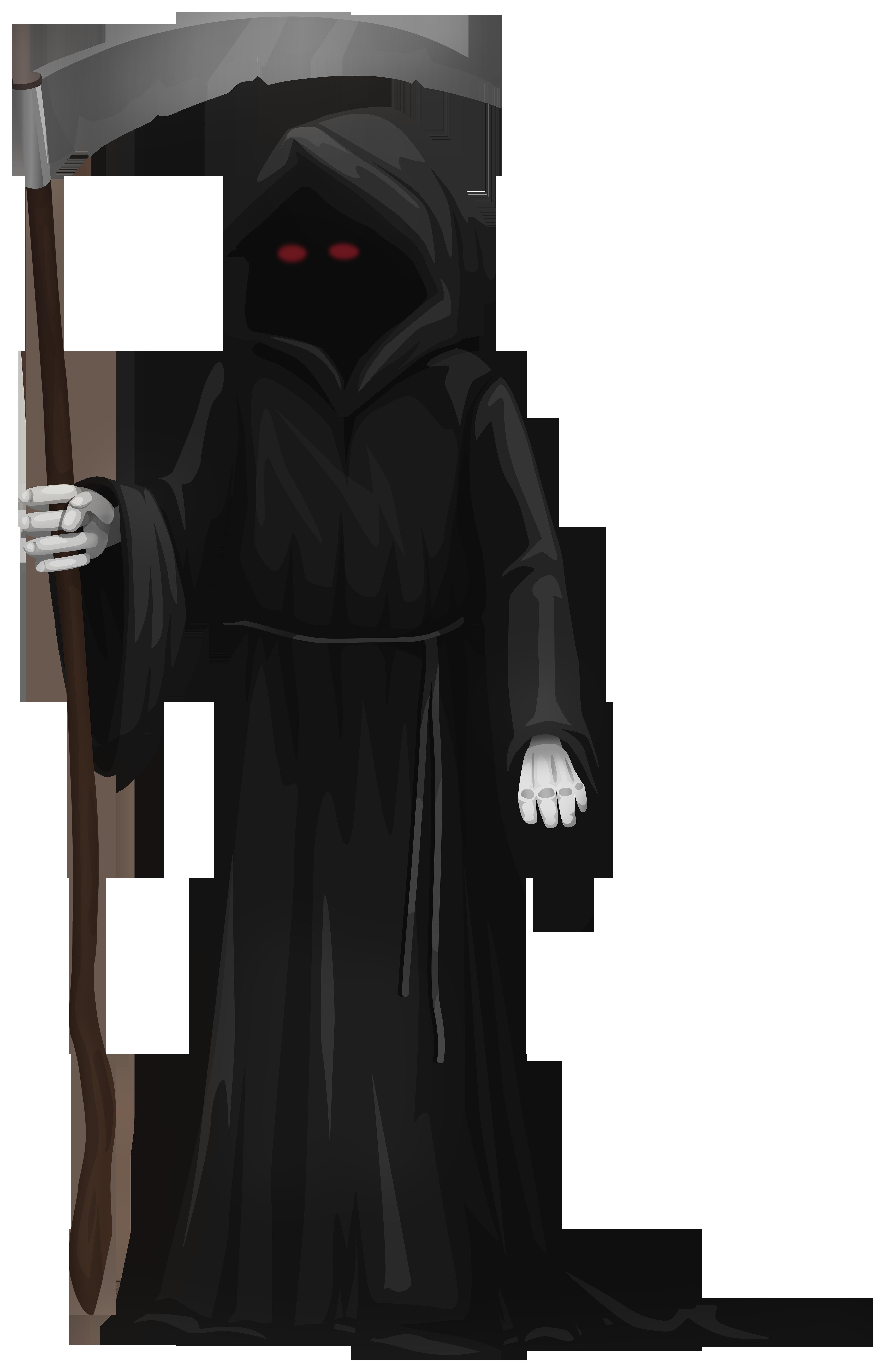 Grim Reaper PNG Clipart.