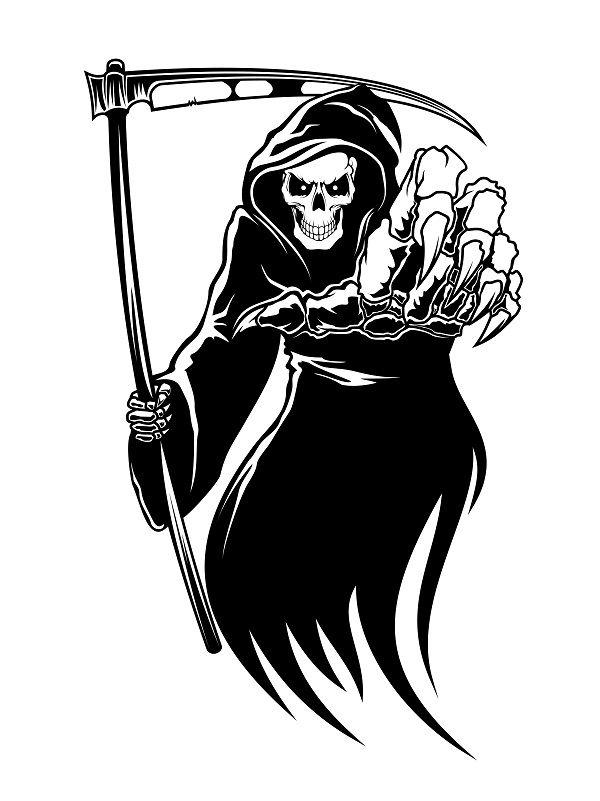 2019 的 Emo clipart grim reaper #3.