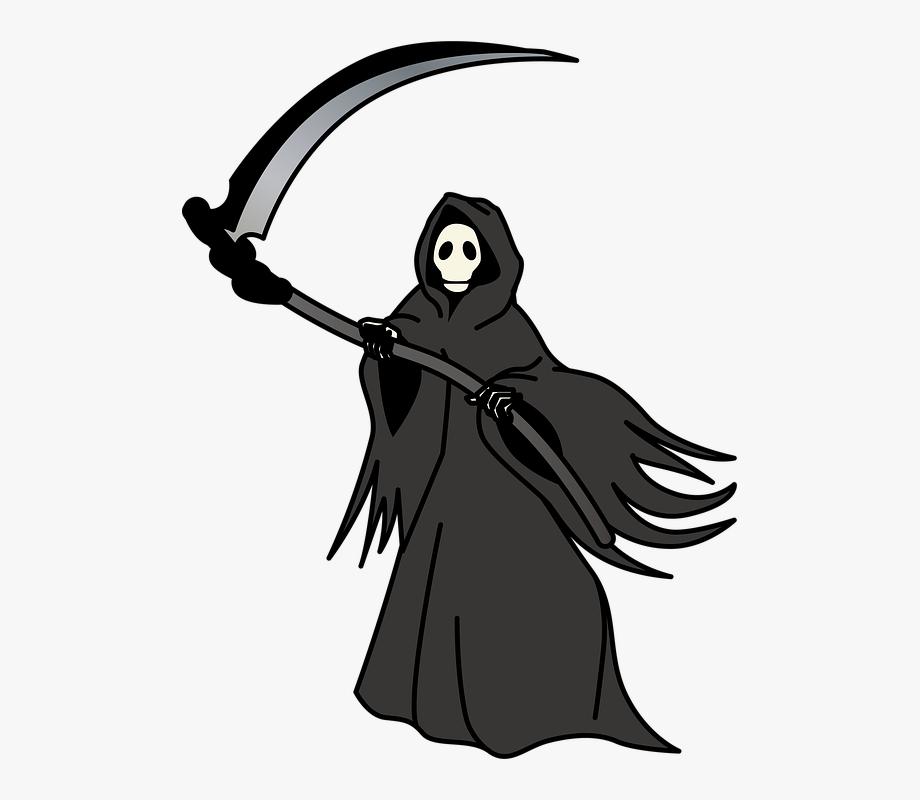 Transparent Background Grim Reaper Clipart , Transparent.