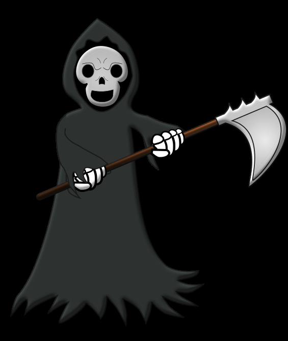 Grim Reaper Clip Art N21 free image.