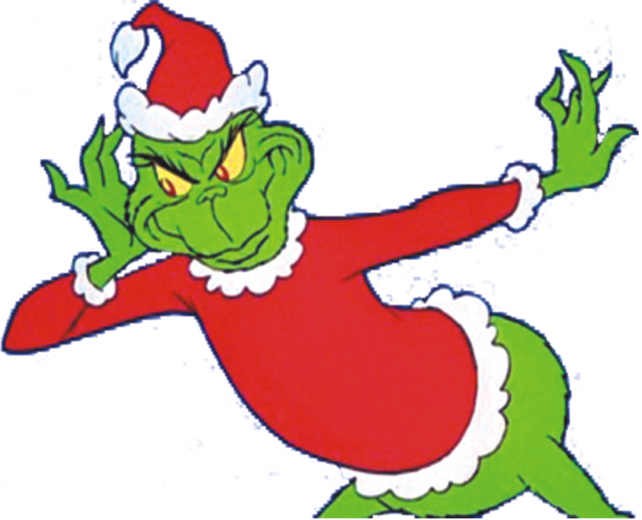 The Grinch Christmas Tree clipart.
