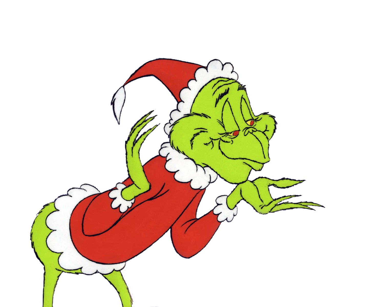 the grinch full body clipart #13