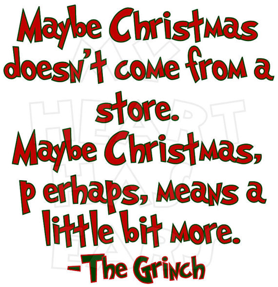 Clipart Grinch Stole Christmas Quotes.