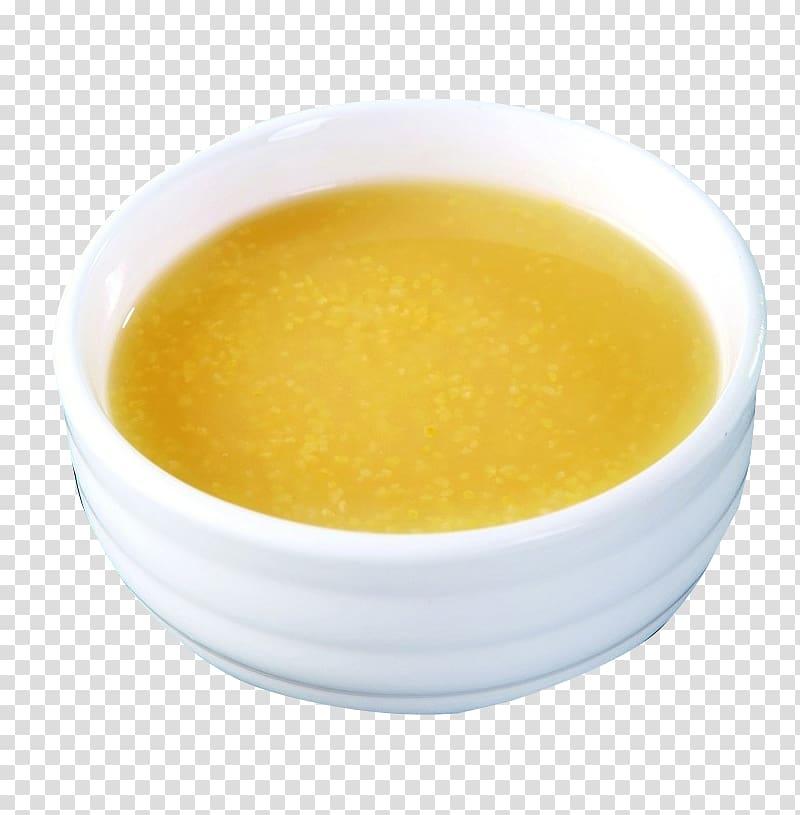Gravy Potage Recipe Broth, Gooey corn grits transparent.