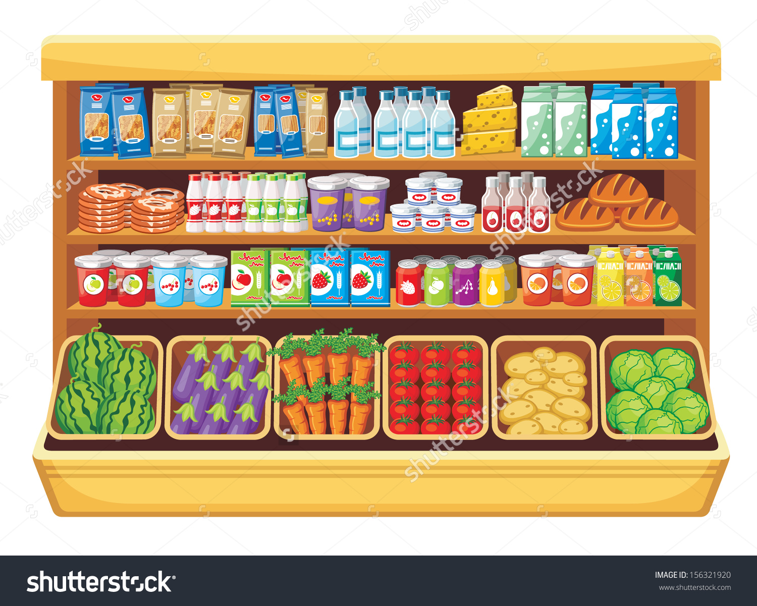 Grocery clipart images 8 » Clipart Station.
