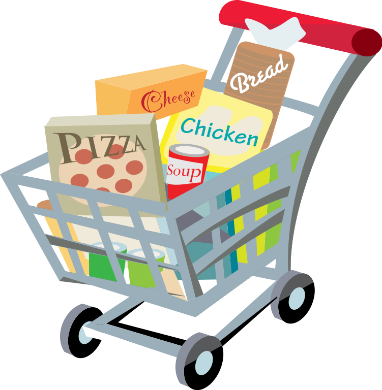 Free Grocery Shopping Clipart, Download Free Clip Art, Free.