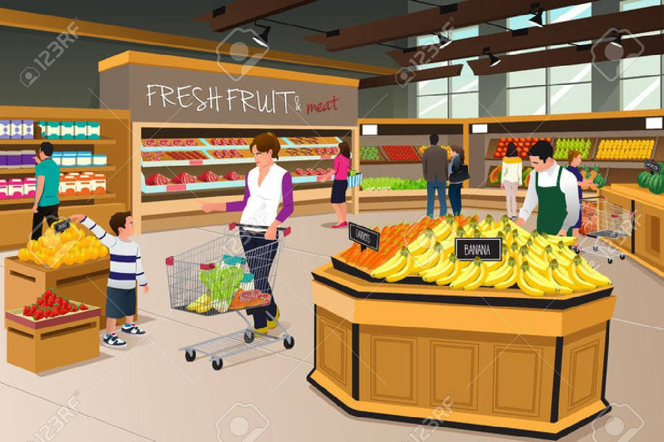 Free grocery store clipart 6 » Clipart Portal.