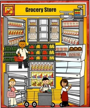 Clipart grocery store 6 » Clipart Portal.