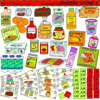Clip Art Grocery Store 2.