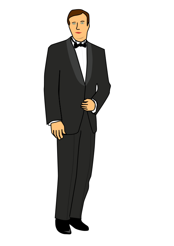 Free Clipart: Groom.
