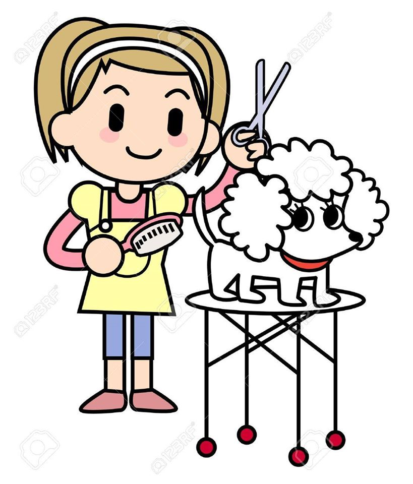 Cat grooming clipart 1 » Clipart Station.