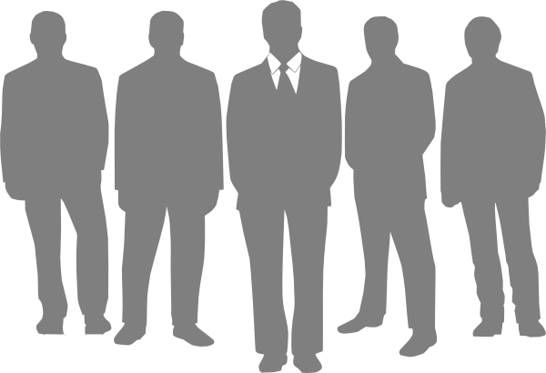 Groom With Groomsmen Clip Art at Clker.com.