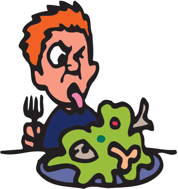 Gross Food Clipart.
