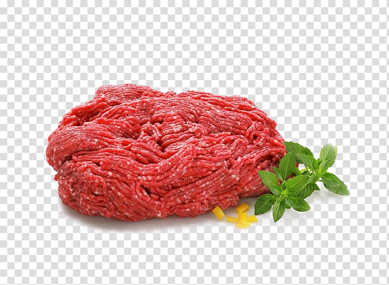 Cattle Ground meat Red meat Beef, Red meat transparent.