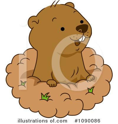 Groundhog Clipart #1090086.