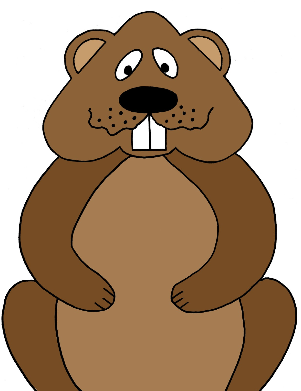 Clipart groundhog clipart.