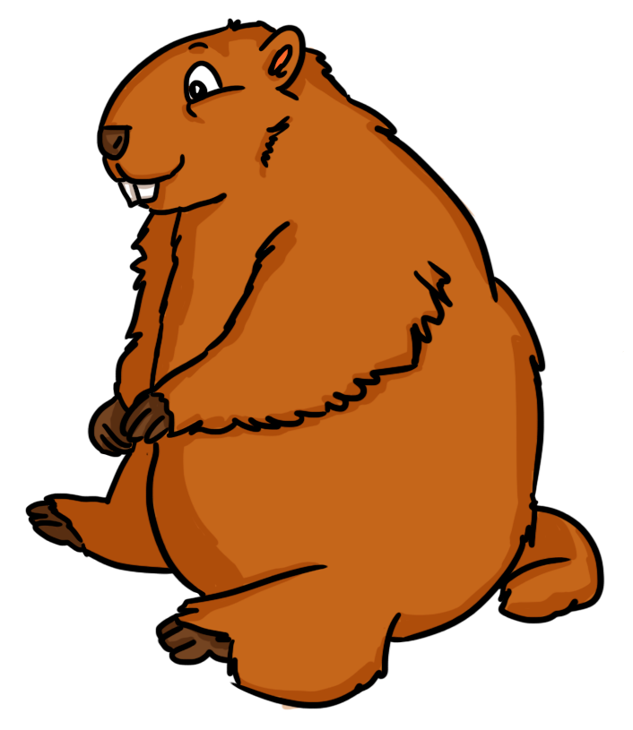 Groundhog clipart 5 » Clipart Station.