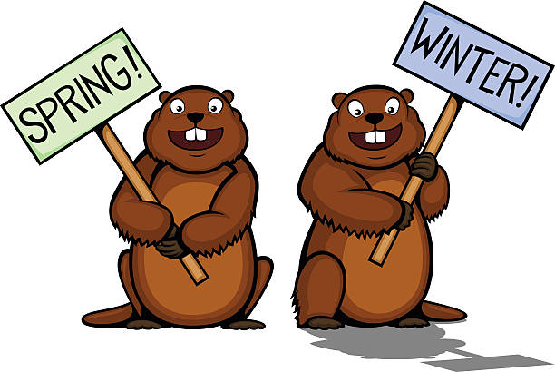 Clipart Of A Groundhog.