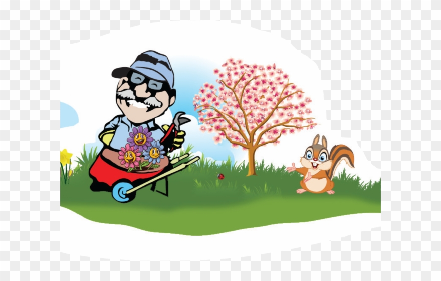 Lawn Clipart Groundskeeper.