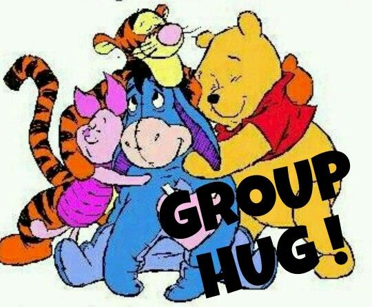Group Hug Clipart.