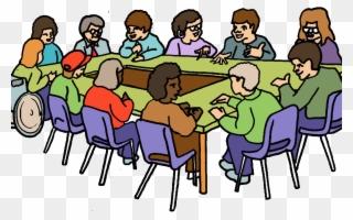 Free PNG Group Meetings Clip Art Download.