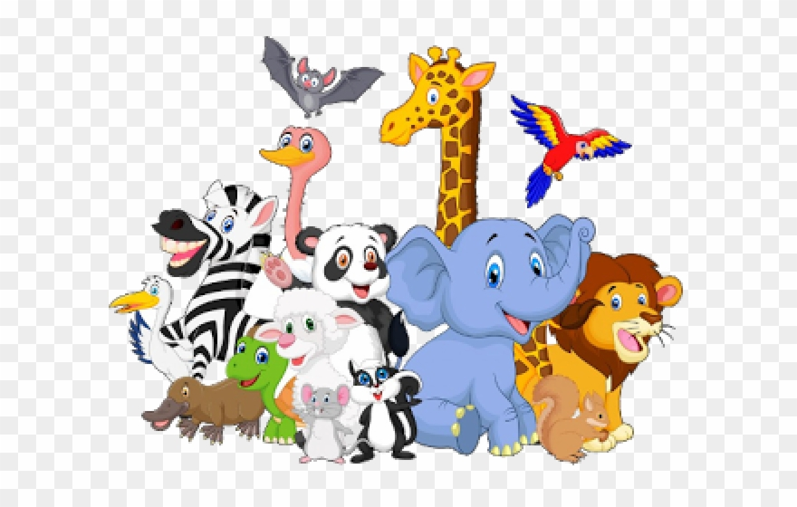 Baby Animal Clipart Group.