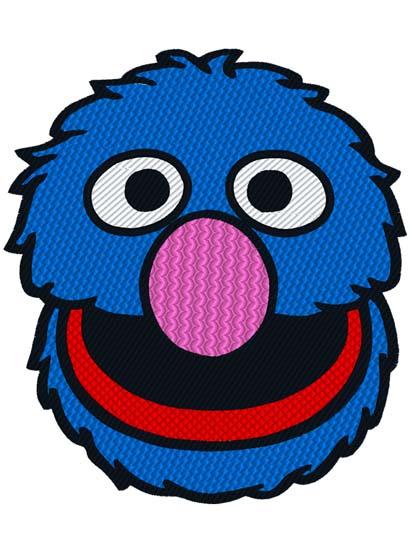 Sesame Street Grover Clipart.