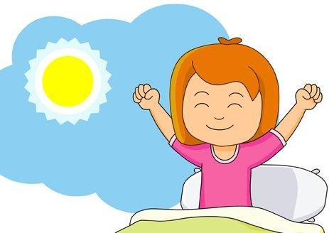Good morning greetings clipart.
