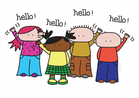 Hello clipart 6 » Clipart Station.