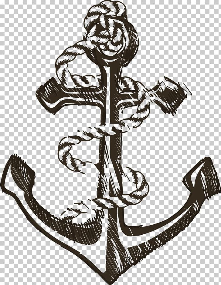 Anchor , Complex Gu Shengsuo anchor PNG clipart.
