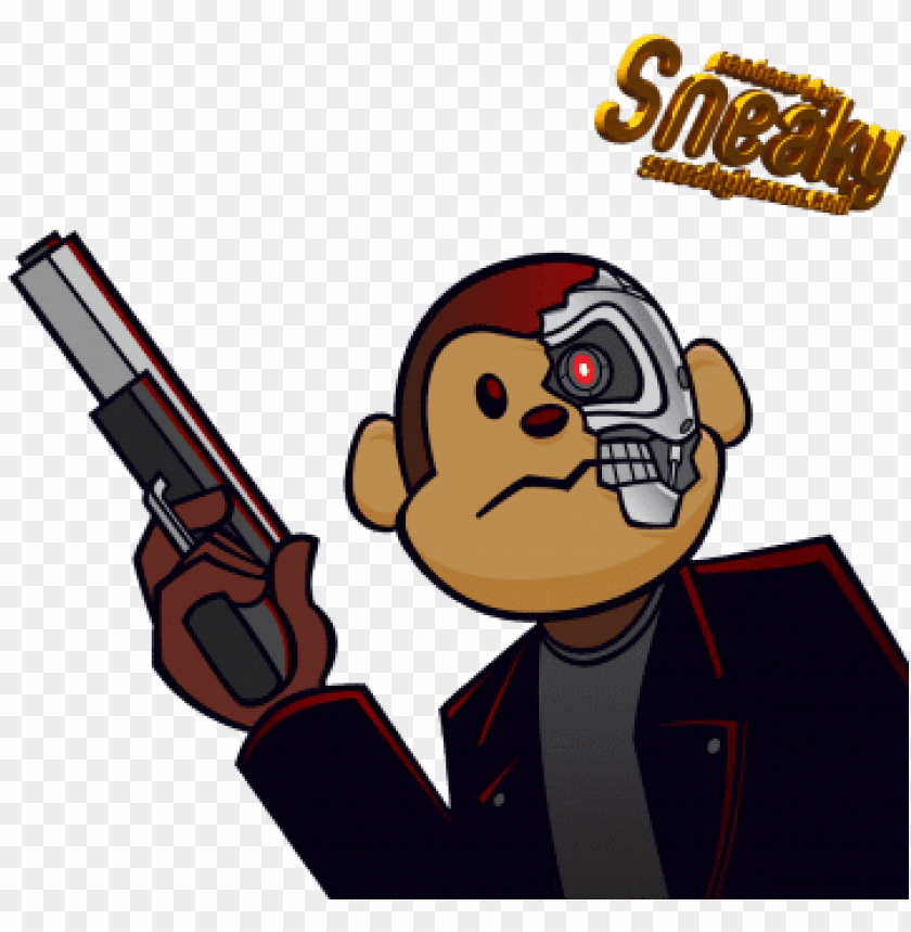 Download monkey clipart gangster.
