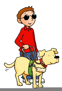 Free Clipart Of Guide Dogs.