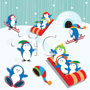 The Clip Art Guide Blog: Winter Clipart Collections.