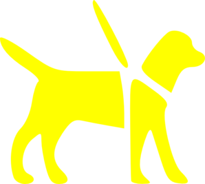 Yellow Guide Dog Clip Art at Clker.com.