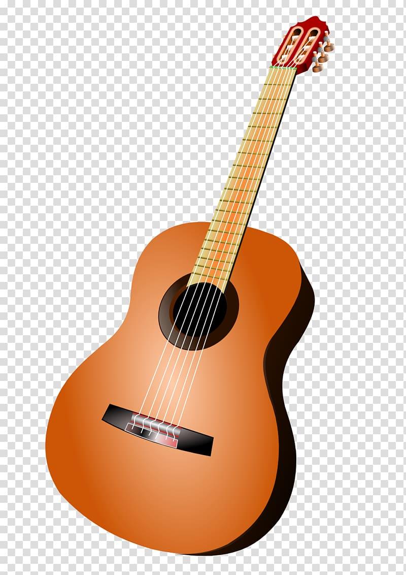 Brown and black classical guitar , Acoustic guitar , Guitar.