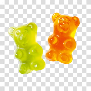Gummy bear transparent background PNG cliparts free download.