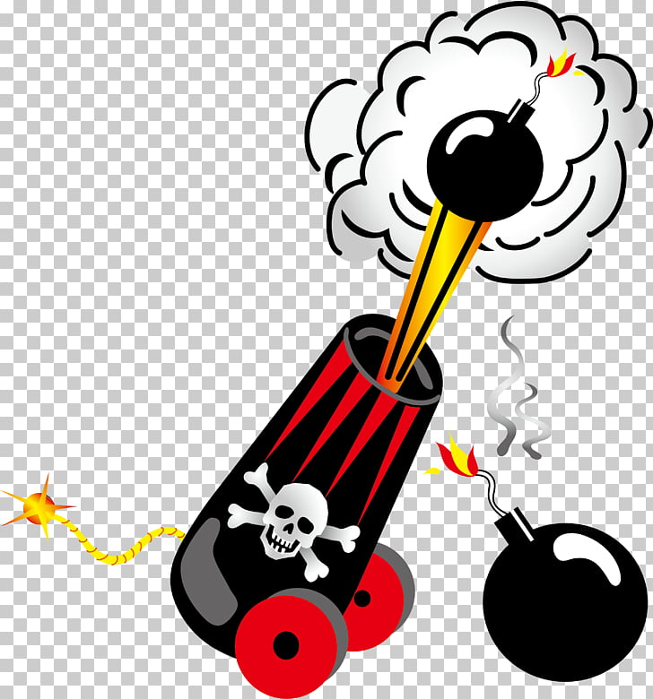 Piracy Stock photography , Pirate gunpowder cannon.