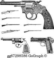 Gun Clip Art.
