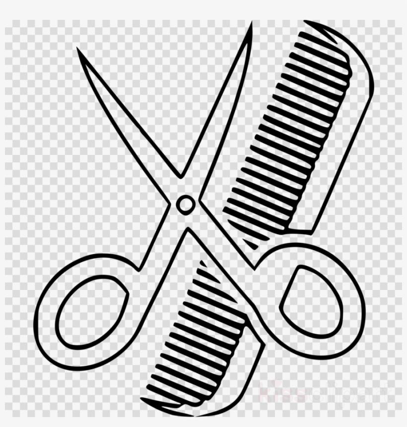 Download Gunting Dan Sisir Png Clipart Comb Clip Art.