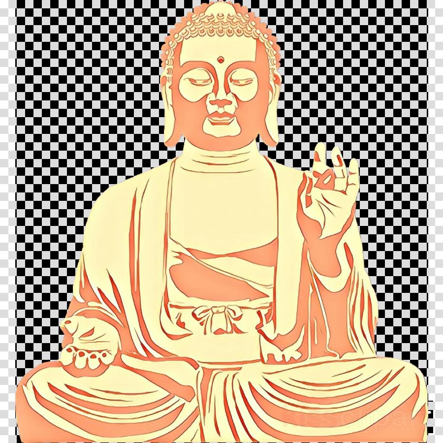 guru fictional character meditation temple statue clipart.