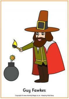 Guy fawkes night clipart 4 » Clipart Portal.