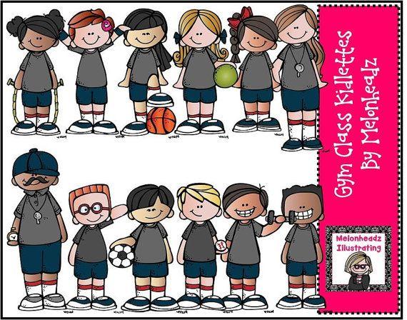 Gym Class clip art.
