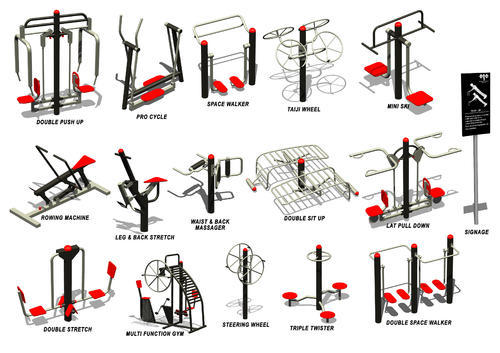 Outdoor Gym Equipment.