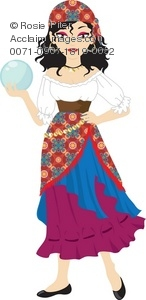 Clipart gypsy 2 » Clipart Station.