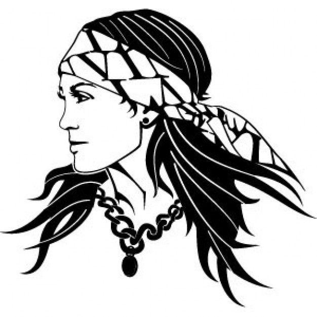 Gypsy Woman Vector 2.